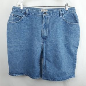 SJB Plus Size 5 Pocket Jean Shorts